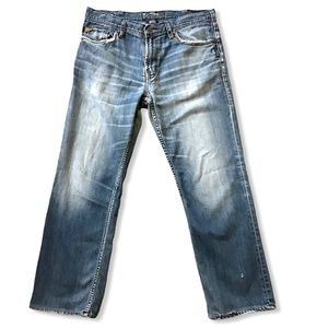 SILVER JEANS   Grayson Heritage Distressed 34x29